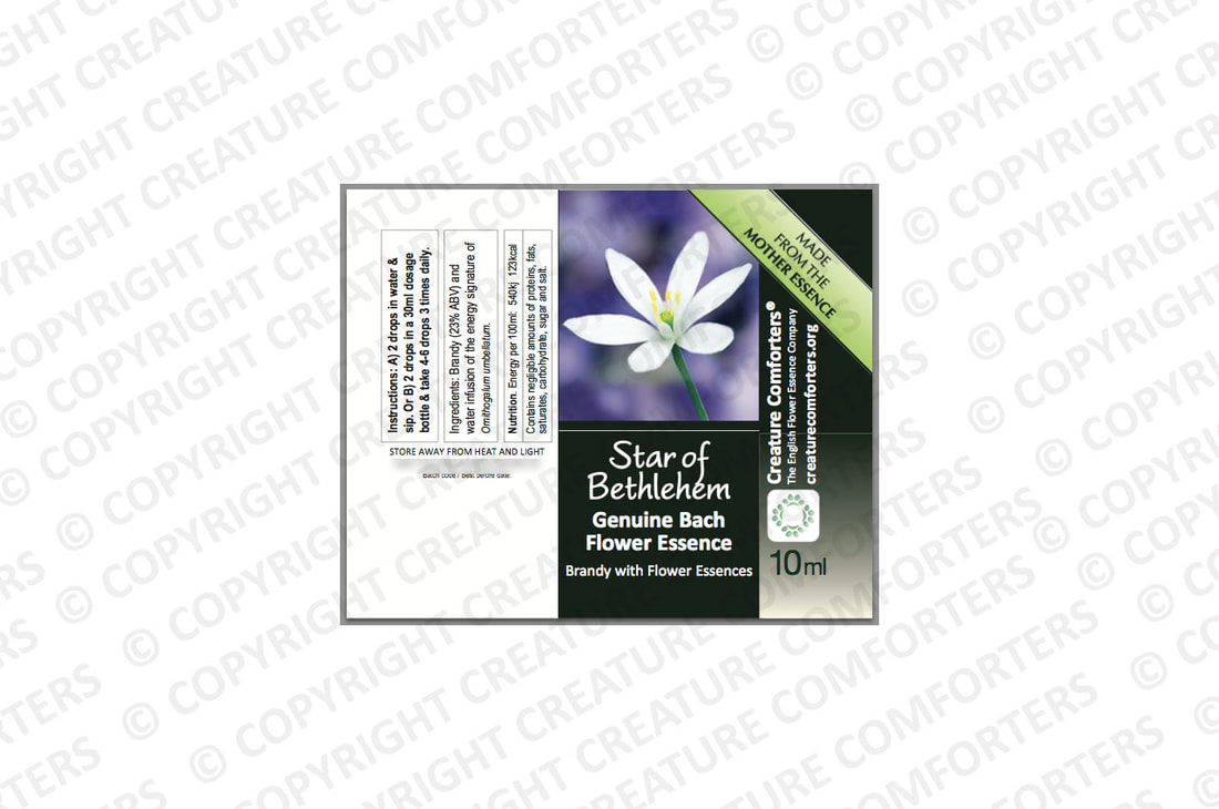 Flower Essence Product label